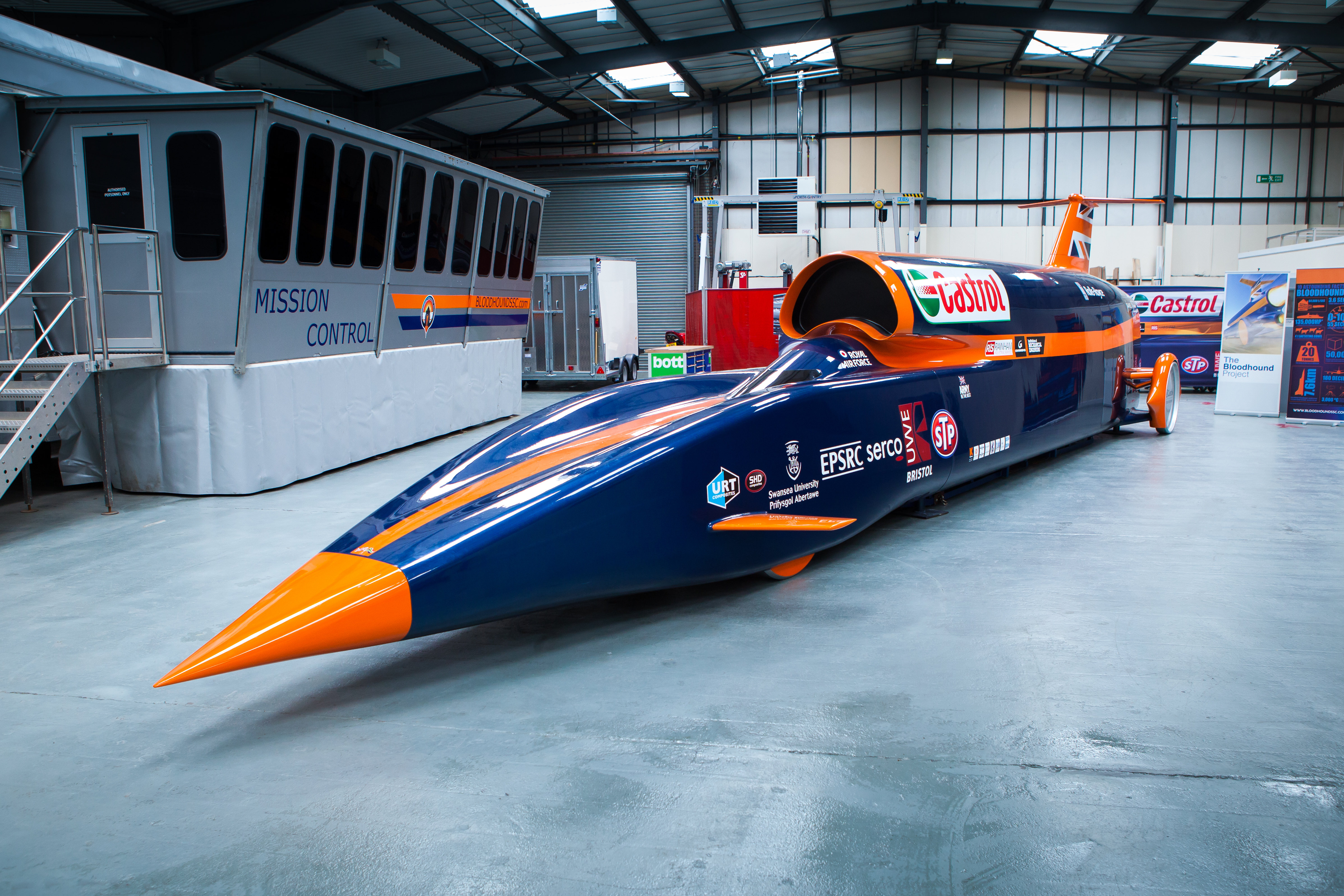 The Fastest Car Ever Made Bloodhound Ssc Khaleej Mag