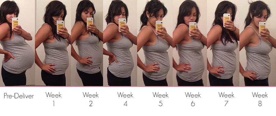 Pregnancy Week By Week Pictures Of Stomach | www.pixshark ...