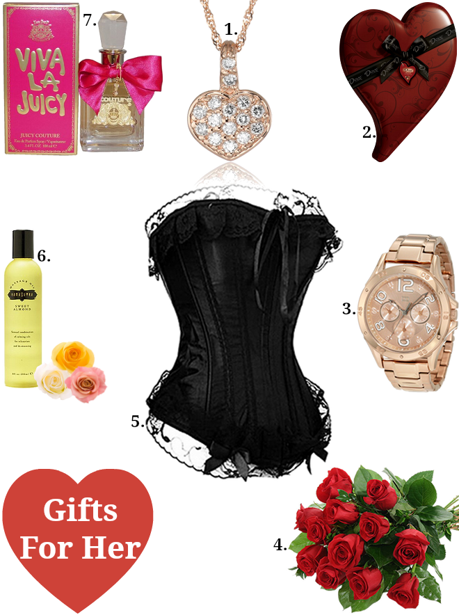 Romantic valentine day gifts for her khaleej mag for Valentines unique gifts for her